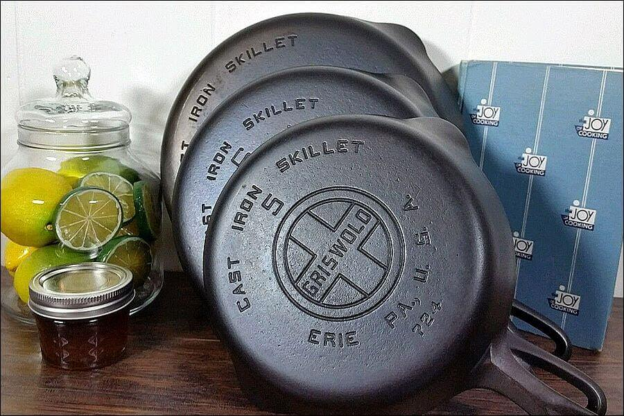 Griswold is highly prized amongst cast iron cookware collectors.