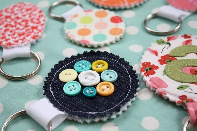 These keychains make a fantastic party favours for a birthday party.