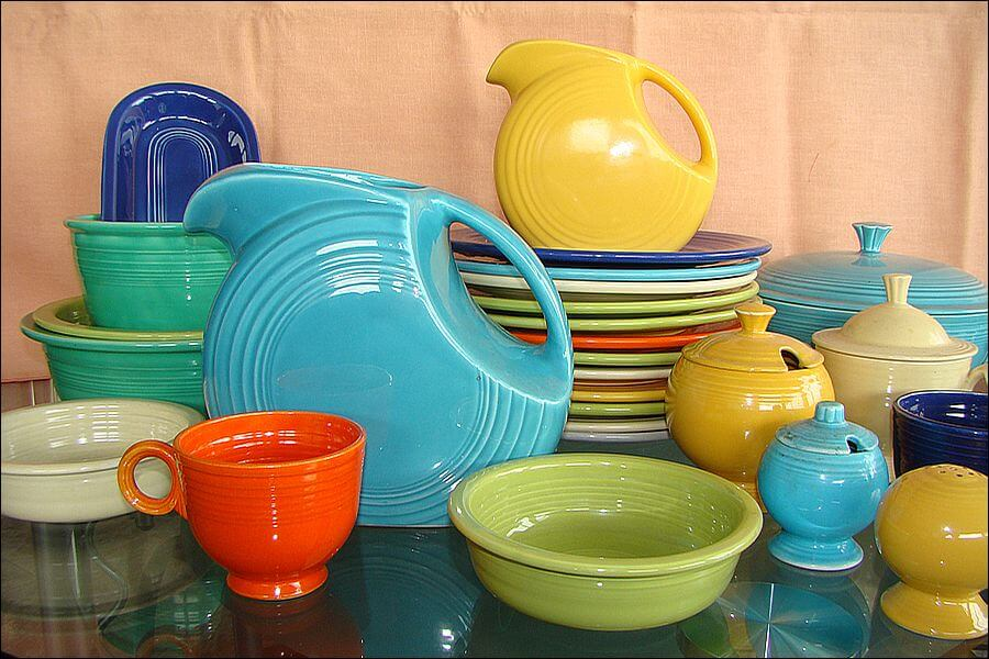 Vintage Fiestware is popular among collectors.